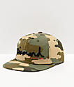 Diamond Supply Co. OG Script Camo Strapback Hat