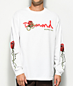 Diamond Supply Co. OG Snake White Long Sleeve T-Shirt
