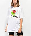 Diamond Supply Co. Rose OG Sign camiseta blanca