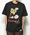 Diamond Supply Co. Snake camiseta negra