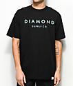 Diamond Supply Co. Stone Cut camiseta negra