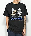 Diamond Supply Co. Tiger camiseta negra