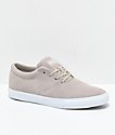 Diamond Supply Co. Torey  zapatos de skate de ante en color caqui