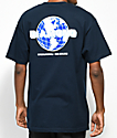 Diamond Supply Co. Worldwide Navy T-Shirt