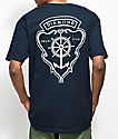 Diamond Supply Co. Yacht Crest camiseta en azul marino