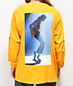 Diamond Supply Co. x Michael Jackson Gold Long Sleeve T-Shirt