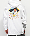 Diamond Supply Co. x Michael Jackson Thriller sudadera con capucha blanca