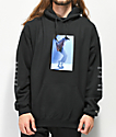Diamond Supply Co. x Michael Jackson sudadera con capucha negra