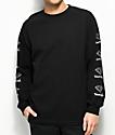Diamond Supply Co.OG Sign Black Long Sleeve T-Shirt