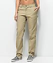 Dickies 67 Slim Straight Khaki Work Pants