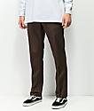 Dickies Flex Chocolate Slim Work Pants