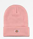 Dickies Pink Fold Beanie