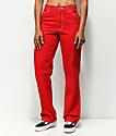 Dickies Red Carpenter Pants
