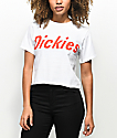 Dickies White Crop T-Shirt