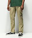 Dickies pantalones de trabajo caqui con rodillas reforzadas