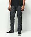 Dickies pantalones de trabajo gris con rodillas reforzadas