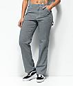 Dickies pantalones estilo carpintero en azul marino a rayas blancas