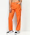 Dickies pantalones estilo carpintero en color naranja