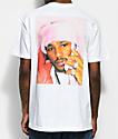Dipset Pink Camron camiseta blanca