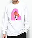 Dipset x Yung Lenox Pink Cam camiseta blanca de manga larga