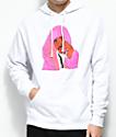 Dipset x Yung Lenox Pink Cam'ron sudadera blanca con capucha
