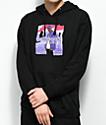 Dipset x Yung Lenox Purple Haze sudadera negra con capucha