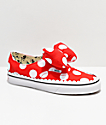 Disney by Vans Authentic Minnie's Bow Slip-On zapatos de skate