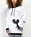 Disney by Vans Checkerboard Mickey sudadera con capucha negra y blanca