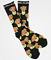 Dog Limited Ball Is Life Black Crew Socks