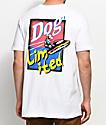 Dog Limited Dog Ski White T-Shirt
