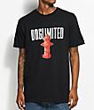 Dog Limited Hydrant camiseta negra