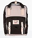 Doughnut Macaroon Ivory & Espresso Backpack