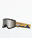 Dragon D1 OTG Realm Silver Ion Snowboard Goggles