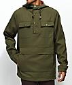 Dravus Bartley chaqueta anorak en verde oliva