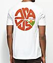 Dravus Cascade Horizon White T-Shirt