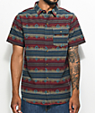Dravus Newb Tribal Short Sleeve Button Up Shirt