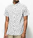 Dravus Ryan Triangle camisa blanca de manga corta