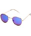 Dyllon gafas de sol en oro claro