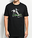 EVERYBODY Skates Table Manners Black T-Shirt