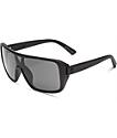 Electric Blast Shield Matte Black & Grey Sunglasses