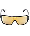 Electric Blast Shield gafas de sol en negro y oro