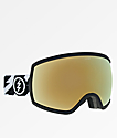 Electric Egg Volt Gold Chrome Snowboard Goggles