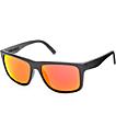 Electric Swingarm XL gafas de sol en negro mate y cromo fuego