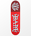 "Element Bam Margera 8.25"" tabla de skate en rojo"