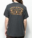 Element Duel Heather Black T-Shirt