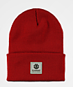Element Dusk 2 Fire Red Beanie