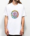 Element Luminous camiseta blanca