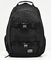 Element Mohave Black Logo Black Backpack