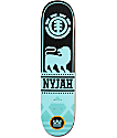 "Element Nyjah Courage 7.75"" Skateboard Deck"
