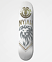 "Element Nyjah White Lion 8.0"" tabla de skate"